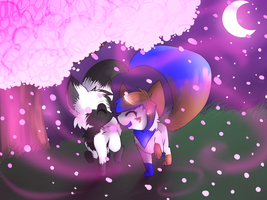 cherry blossom By Mystical-Silvervixen by TaruKitsune