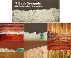 [Resources] 7 BackGround Textures - Pack 3 by jemmy2000