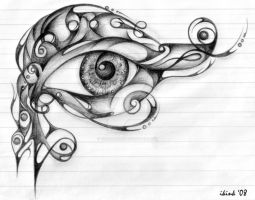 Eye  of Horus by Toefje-Kunst