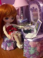 Lavender room in action 2 by Donttouchmykitty