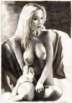 Nude no.7 (SOLD) by dimitriskoskinas