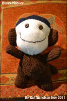 Huggy-Monkey by KatCardy