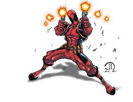 Dead Pool colors by JoeyVazquez