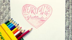 Heartfull of Gratitude by NAD-LifeOfficial