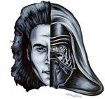 Kylo Ren by Snappedragon
