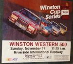 Winston Western 500 Poster by deviantmike423