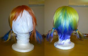 Rainbow Dash wig by Rikku-2