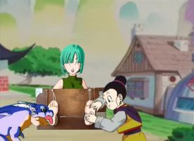 Bulma Tickle by tomson05