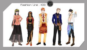PN Fashion Line #03 : CCTV Semi-formals 2 by Enouviaiei