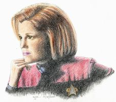 Cpt. Janeway by Nymeria-Stark