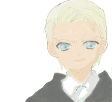 Draco Malfoy by NeonDance123