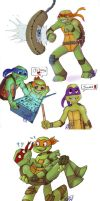 Tmnt 2012 stuff by ingunnsara