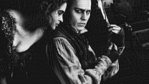 Johnny Depp as Sweeney Tod Photo Mosaic by whendt