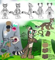 (CE) Jaki the Clouded Leopard by AhO4464