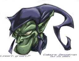 Green Goblin by Zenzotron