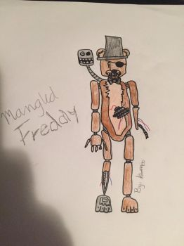 Mangled Freddy  by Rwby18793452