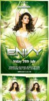 Envy Party Flyer by MadFatSkillz
