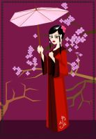 Geisha by Val-eithel