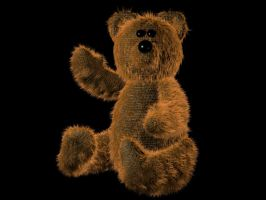 Scrappy Teddy by ART-HAUS-STUDIOS