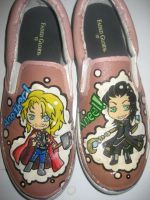 Thor and Loki Shoes by Acrylicolt