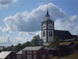 village in norway by ChrisBrowning