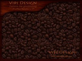 Pattern Coffee beans by elixa-geg