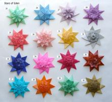 Stars of Eden, set 25-40 by Figuer