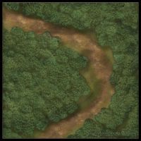 Forest Roads: Straight Road by YoSpeck