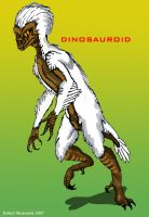 The Dinosauroid: my two cents by Crocazill