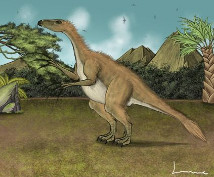 Therizinosaurus by Louisetheanimator