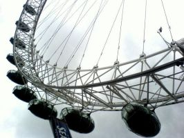 London eye close up by cottoncandycookie