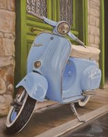 Vespa by georgeayers2000