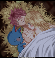 Fairy Tail - Natsu, Lucy and Happy by Perfectionxanime