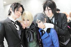 Black butler cosplay by GarterbeltWith