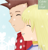 Lloyd and Colette by Nippondaisuki