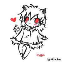 neko izaya sketch by Kida-kun