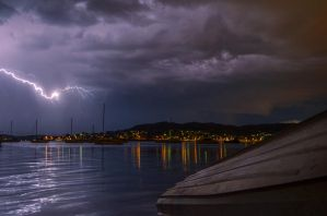 Lake Macquaire Lightning by guitarmatt1990