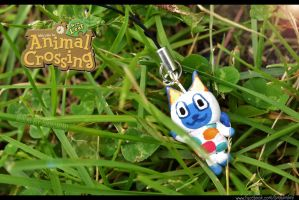Animal Crossing New Leaf - Mitzi Keychain by Smikimimi