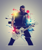 James Hetfield LP by yuri008