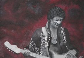 Jimi Hendrix by Anouk-Productions