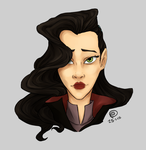 Asami Sato by reasonablygay