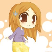Orihime Chibi by Gnomiee
