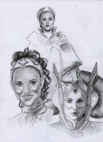 Amidala Collection WIP by AngelinaBenedetti