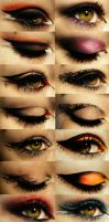 Gothic Make ups by raptorzysko