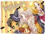 HALLOWEEN TIME by PinkAngelChao