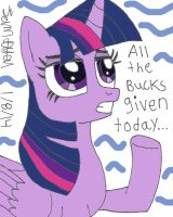 All the Bucks Given... by lcponymerch