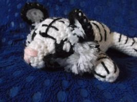 Crochet White Tiger Amigurumi by ShadowOrder7