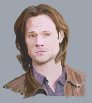 Sam Winchester by rilemee