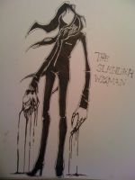 slender bitch by EPICBLUEFACE22