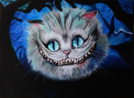 Cat-Alice In Wonderland by HGAlba